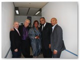 Peter Martin, Romero, Dianne Reeves, Terreon Gully and Ruben Rogers in South Korea