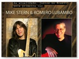 Poster for Romero's Mistura Fina show with Mike Stern