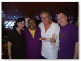Renee Rosnes, James Moody, Romero and Adam Nussbaum on the Playboy Jazz Cruise