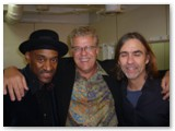 Marcus Miller, Romero and Dean Brown on the Playboy Jazz Cruise